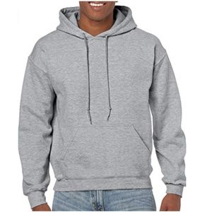 Men's Heavy Blend Fleece Hooded Sweatshirt